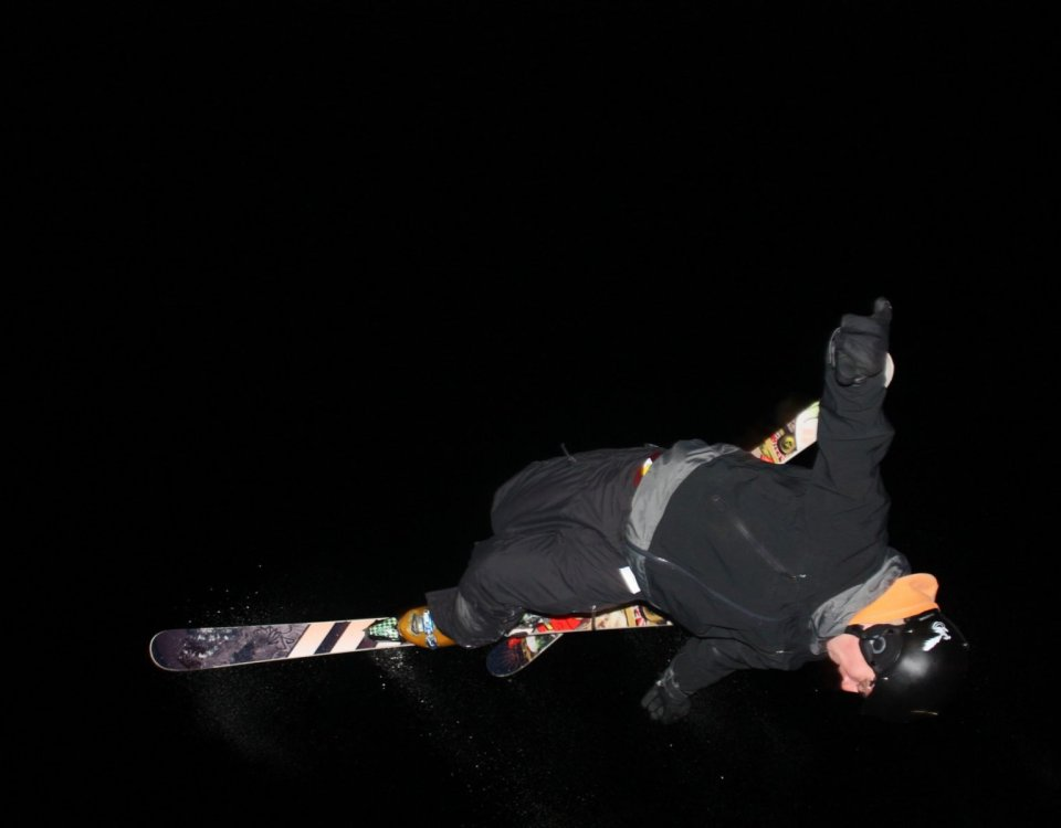 Norquay Night Skiing