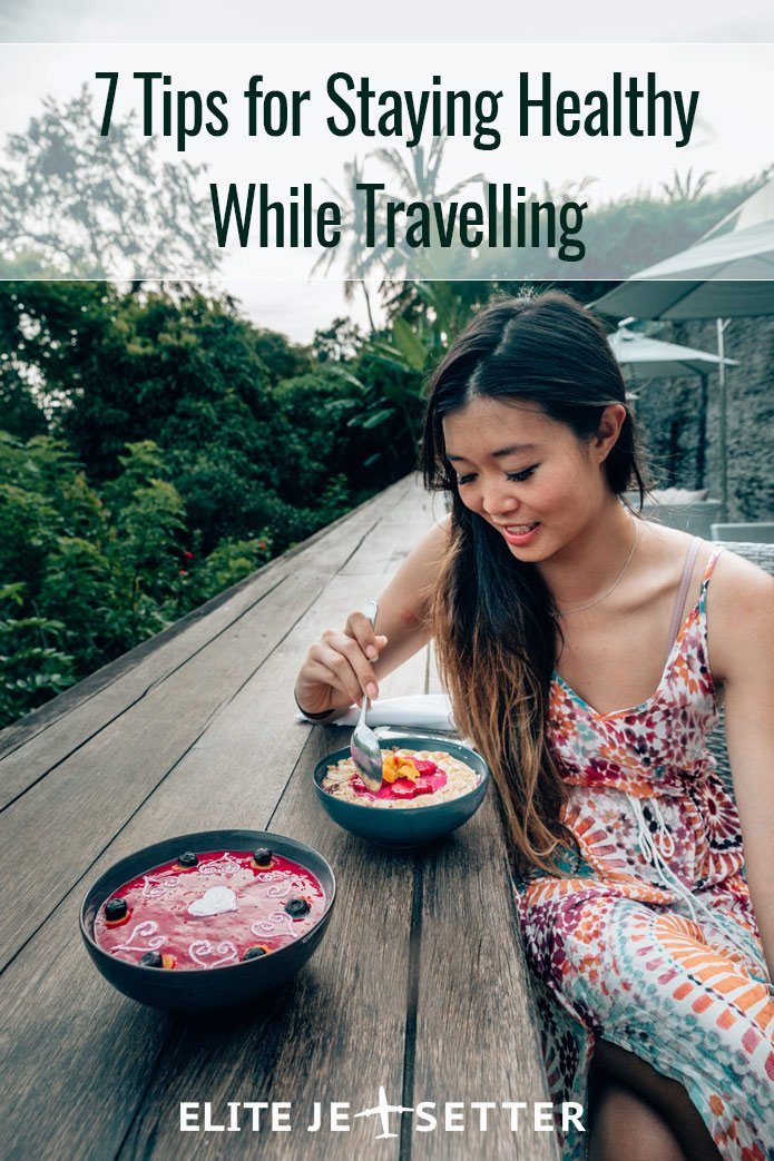 pinterest healthy tips travelling