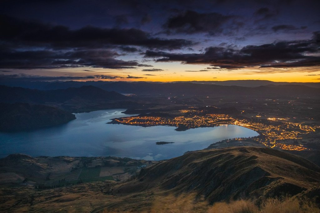 Roy's Peak hike New Zealand