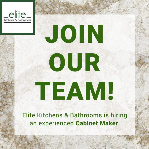 JOB POSTING: Cabinetry Maker