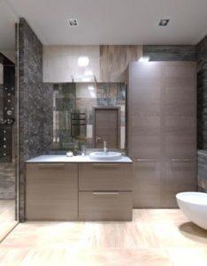 Beautiful bathroom space