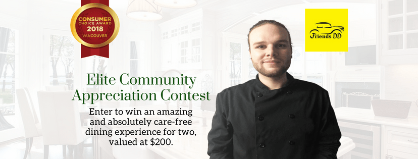 Elite Contest: Enter to win an amazing dining experience for two.