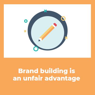 brand building is unfair
