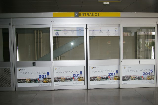 Las Vegas Monorail - LVCC and MGM Grand Station Door Panels