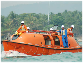 Offshore Lifeboat Coxswain