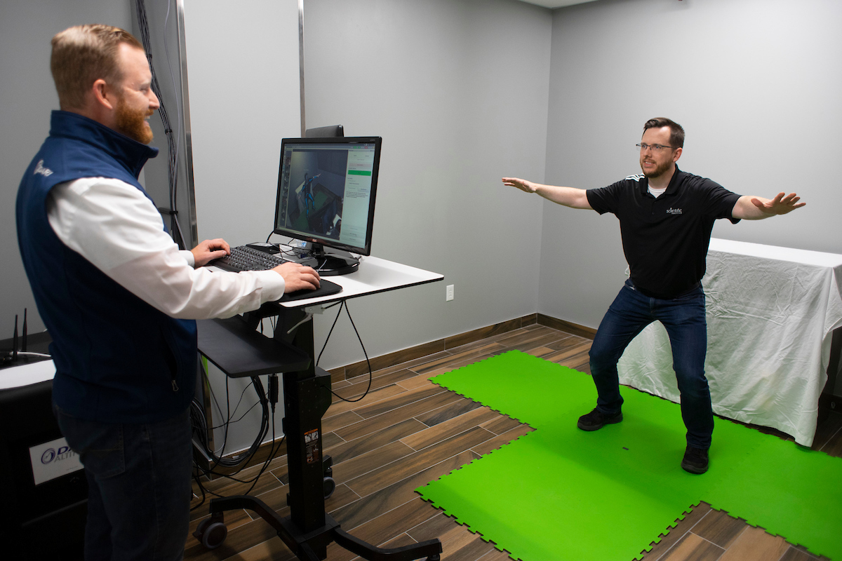 Sporting Kansas City conducts fitness evaluations for prominent Kansas City business executives.