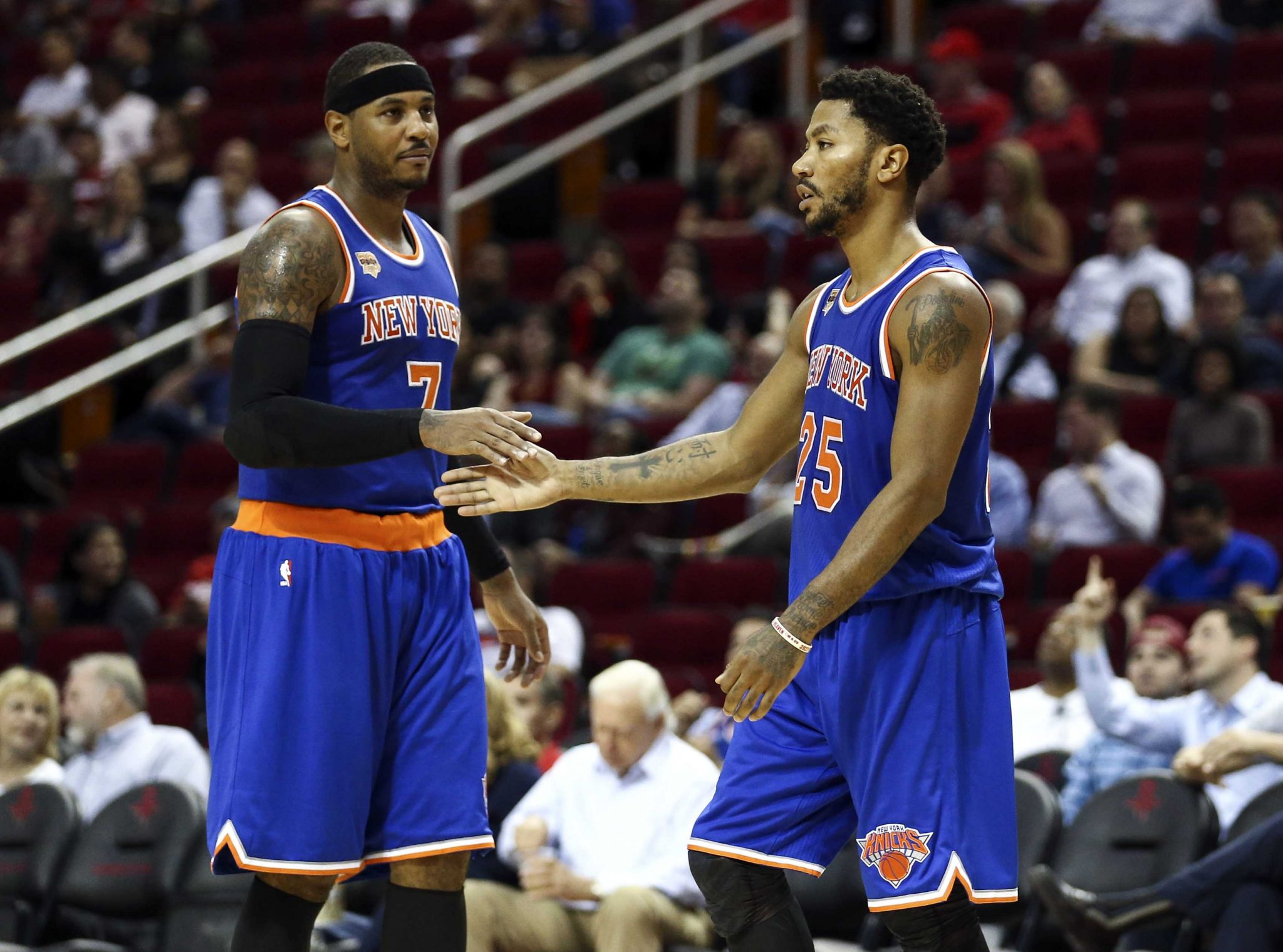 New York Knicks: Derrick Rose invites himself to Carmelo Anthony's Thanksgiving