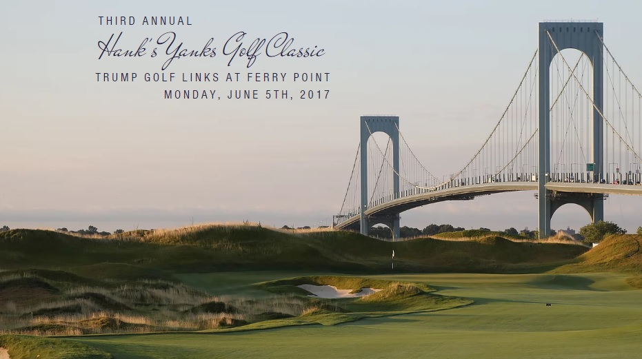 New York Yankees: 3rd Annual Hank's Yanks Golf Classic To Take Place On June 5 1