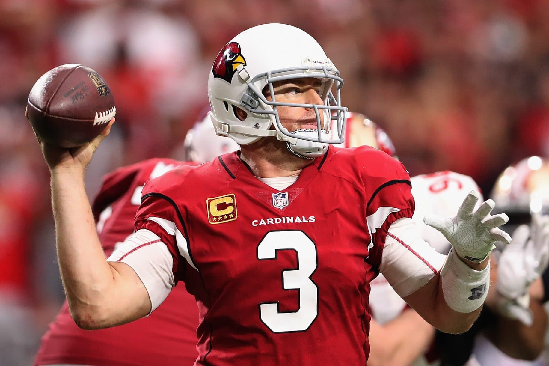 Daily Fantasy Football BYE Weeks Make For Tough Decisions: Sneaky with Carson Palmer 1
