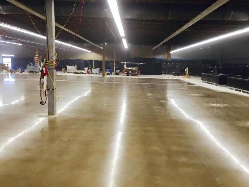 Naperville Polished Concrete