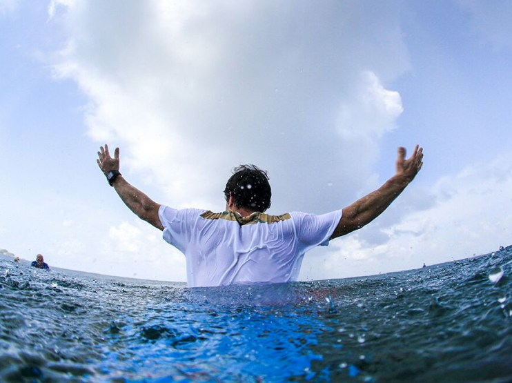 Elite Surf Coaching surfer
