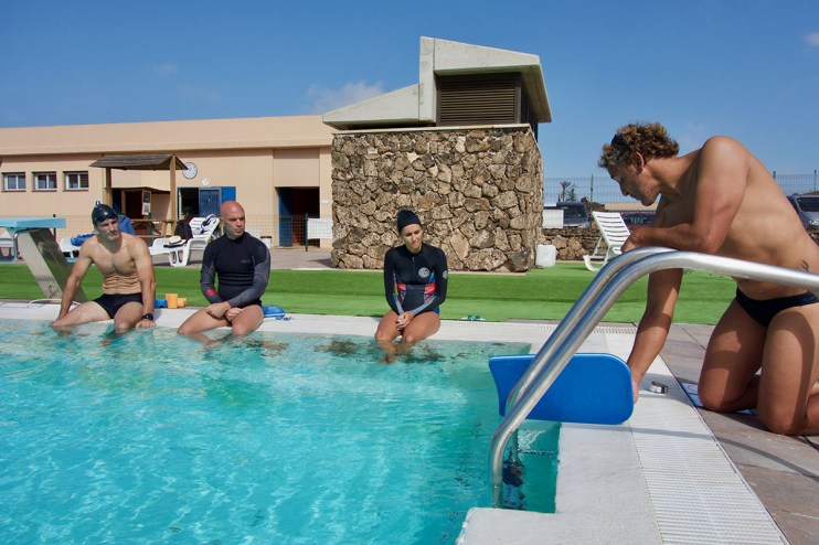 Elite Surf adults swimming training