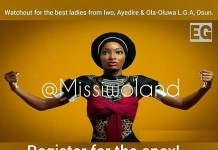 Miss Iwoland Beauty Contest