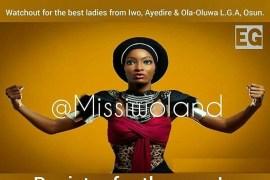 Miss Iwoland Beauty Contest