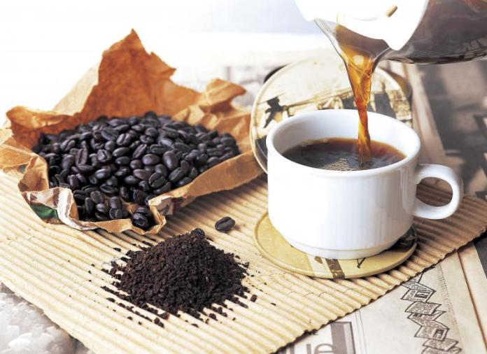 Natural beauty products for caffeine skin