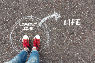 Breaking Forth from the Comfort Zone.| By Adeniyi Ademola