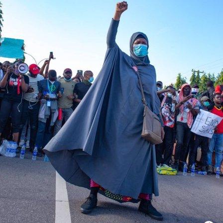 Nigeria Statute of Liberty: Who is Aisha Yesufu?