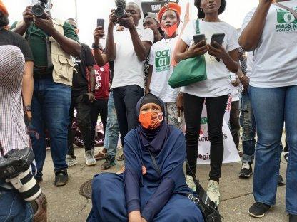 Aisha Yesufu Protest