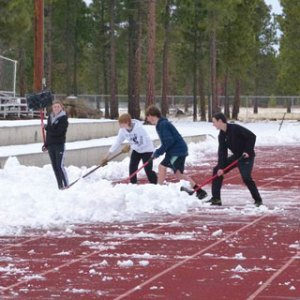 snow-track