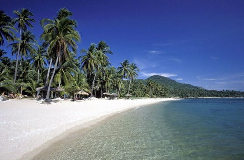 Chaweng beach in Thailand