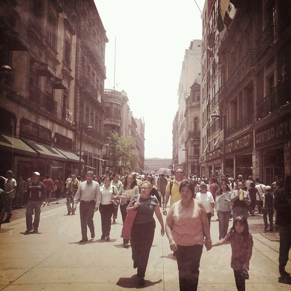 Madero Street in Mexico City