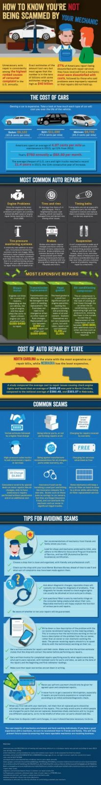 Car repair - how not to get scammed