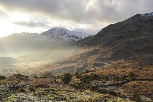peak district winter photo