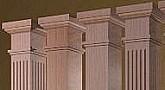 Interior Columns Decorative Wood Columns Elite Trimworks