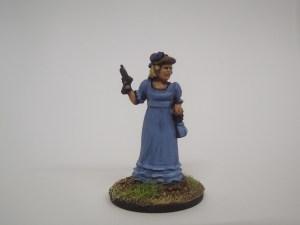 British officer lady