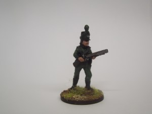 British line advancing