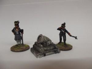 British morter and crew