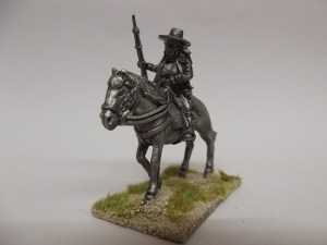 Spanish Guerilla with horse carrying a musket