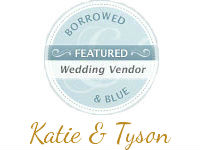 Borrowed and Blue Katie Tyson's Wedding