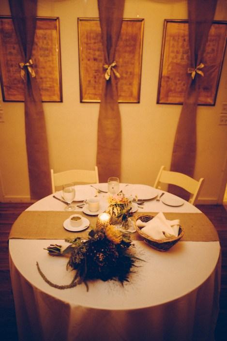 Matt & Heather's Sweetheart table