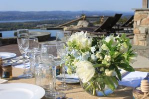 Hudson Valley Wedding Venues- wedding table