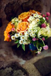 bouquet wedding shoot - winding hills golf club