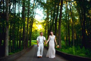winding hills golf club- wedding shoot