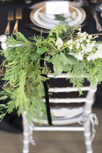 chair decor -roundhouse wedding