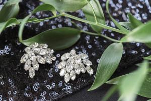 vintage bridal earings