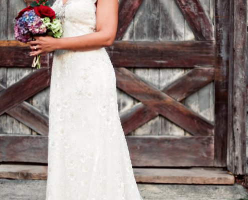 gown - hudson ny wedding planner