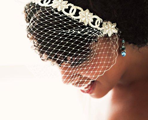 blushing bride - Hudson wedding