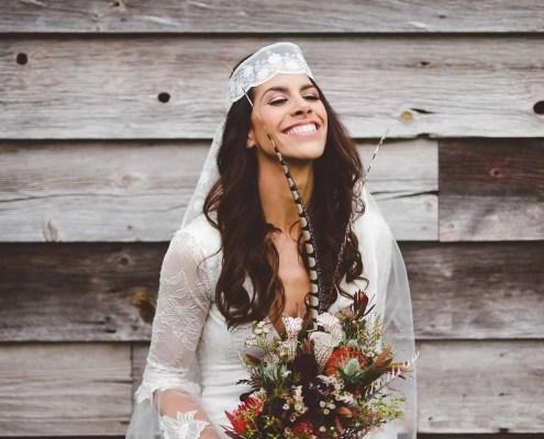 bohemian wedding - handsome hollow