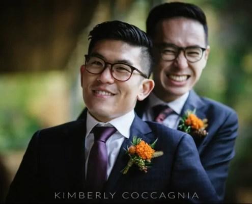 same sex wedding - beacon ny