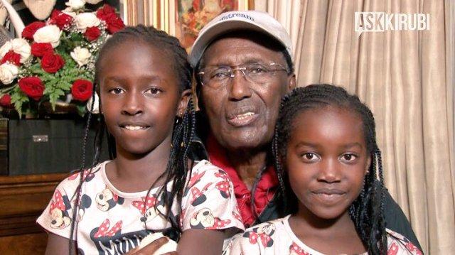 Kenyan billionaire grandchildren