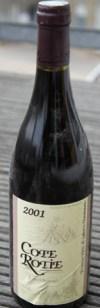 Cote-Rotie 2001, Bernard Burgaud