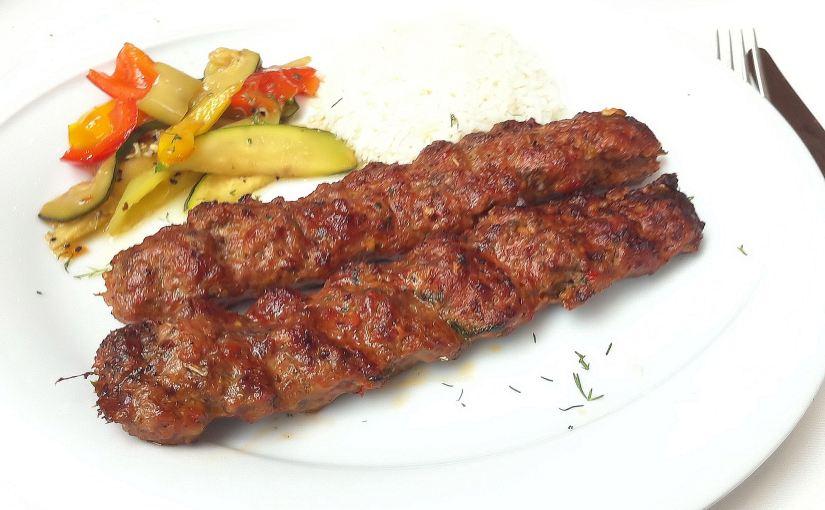 A kofte kebab