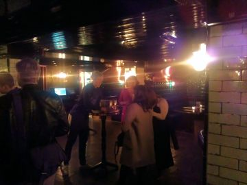 Hawksmoor Spitalfields Bar with booths