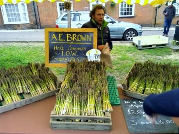A. E. Brown, asparagus grower