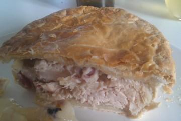 Manydown Farm Shop Chicken and Ham pie