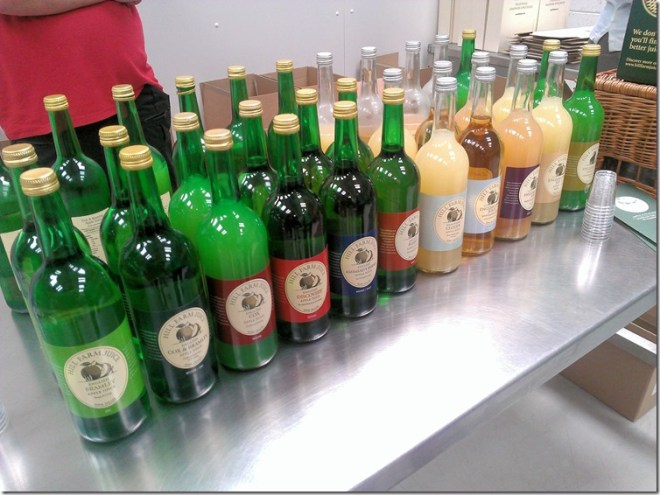 Hill Farm Apple Juice product range